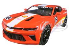 2017 CHEVROLET CAMARO SS SHELL OIL RACING 1/24 DIECAST MODEL BY GREENLIGHT