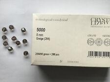 10 Swarovski Perlen 5000 rund 8mm greige