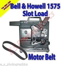 Bell & Howell 1575 Cinturón de proyector de cine de 16mm con ranura de carga (Cinturón de motor principal)