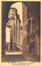 BR72936 tulle le porche de la cathedrale et maison renaissance  france