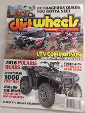Dirt Wheels Magazine UTV Comparison 2016 Polaris Quads July 2015 032717nonR