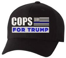 Trump Hat - Cops for Trump Hat Flex Fit 6277 Embroidered Hat - Free Shipping