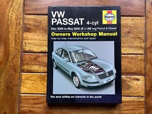Haynes Workshop Manual VW Passat 2000-2005 Petrol /& Diesel Service /& Repair