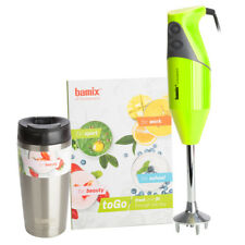 NEW Bamix To Go Lime Hand Mixer