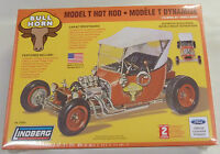 Lindberg 1/16 Model T Bull Horn Hot Rod Model Kit New