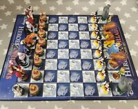 Disney Heroes And Villians Chess Set - Collectable -
