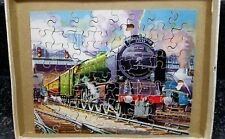 Complete Hayter Vintage Victory Wooden Jigsaw Puzzle The Scarborough Flyer 60 pc