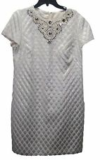 NWT Dress by Maggy London/ Ivory/Silver/ size 12/ Nordstroms