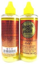 2x Rock & Roll Gold Chain MTB Lube Lubricant  4fl.oz Oil 118ml Bottle 2x Bottles