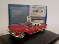 Model Car, Cadillac Eldorado Brougham - 1957 Dakota Red, 1/87 New Oxford 87CE570