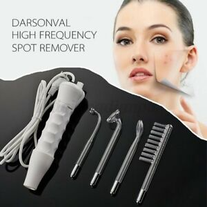 5-IN-1 High Frequency Darsonval Beauty Skin Spot Remover Facial Care Sp *k