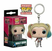 Funko pop key chain justice league harley quinn dc comics llavero figura figure