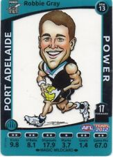 2012 Teamcoach Magic Wild MW-12 Robbie Gray Port Adelaide