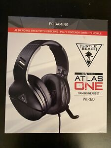 Turtle Beach Atlas One Wired Stereo Gaming Headset for PC Xbox Switch PS4 PS5