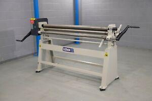 uzma metal Bending rollers Manual 1550mmmm x 75mm  vat inc