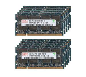 Hynix 20GB 10X 2GB PC2-5300 DDR2 667Mhz 200Pin Memory RAM Laptop SO-DIMM PC5300