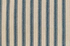 NEW Light BLUE Striped Bed Ticking Fabric - Material Sold by the Yard