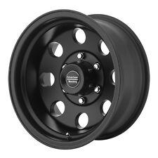 "4-NEW American Racing AR172 Baja 15x8 5x4.75"" -19mm Satin Black Wheels Rims"