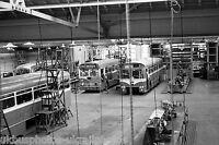 Southdown Portslade works interior 6x4 Bus Photo Ref P113