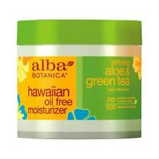 Alba Botanica Hawaiian Oil Free Moisturizer with Aloe and Green Tea 3 oz