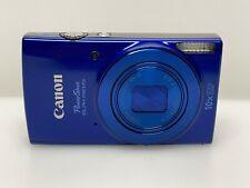 Canon PowerShot ELPH 190 IS / IXUS 180 20.0 MP Digital Camera - Blue