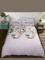 Rapport Simply Sloth Double  Duvet Set CHEAPEST ON EBAY