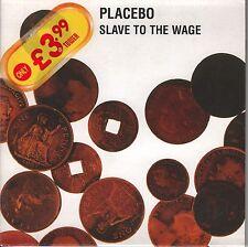 Placebo CD-Single Slave to the Wage (C) 2000 CARDSLEEVE