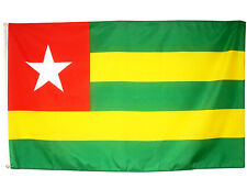 Fahne Togo Querformat 90 x 150 cm Hiss Flagge Nationalflagge