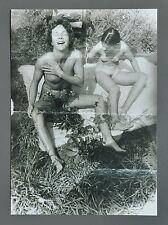 Sigmar Polke Limited Ed. Photo Print 21x30cm Untitled Willich 1972 Nude B&W Art