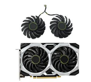 Fan Set For MSI GeForce GTX 1660 1660Ti SUPER VENTUS XS GPU Cooler PLD09210S12HH