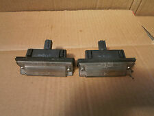 MITSUBISHI CARISMA 2002 HATCH PAIR OF REAR NUMBER PLATE LIGHTS