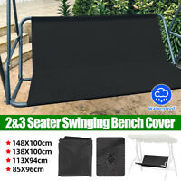 Garden 2/3 Seat Waterproof Swing Cover Chair Bench Replacement Patio Outdoor