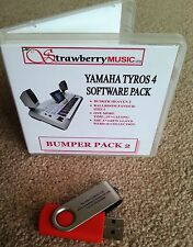 BUMPER PACK 2 Tyros 4 software collection USB Tyros4