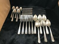 Lot of 21 Vintage WINFIELD Silverplate Flatware Utensils