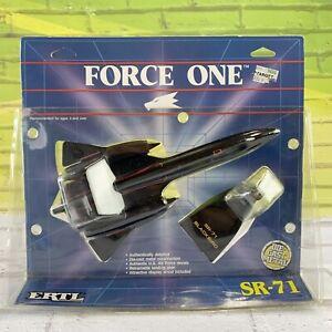 1988 ERTL FORCE ONE SR-71 Blackbird Airplane US Air Force Diecast NEW Sealed NIP