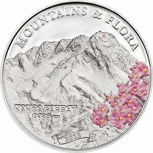 Palau 2013 Nanga Parbat 5 Dollars Silver Coin,Proof