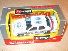 BURAGO-FORD SIERRA RALLY - 4183-Scala 1.43 - Nuovo di zecca/boxed-spedizione rapida