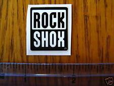 Rock Shox Mountain Bike Bikes Fork Shox D Sticker Decal