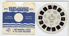 1955 Los Angeles Viewmaster Single Reel 221