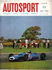 Autosport Apr 28 1967 Rolls Royce Silver Shadow Fiat 125 Nurburgring F2
