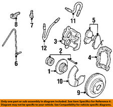 AUDI OEM 93-95 90 Front Brake-Flex Hose 893611707
