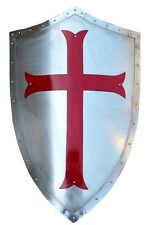 Medieval Templar Crusader Warrior Protector And Role Pay Shield Halloween Gift