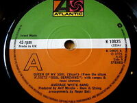 """AVERAGE WHITE BAND - QUEEN OF MY SOUL  7"""" VINYL"""