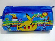 NEW Pokemon Pikachu Stationery Kids Boy Pencil case Zipper Bag Pouch Bag