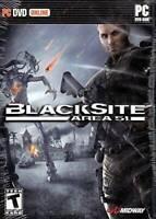 Blacksite: Area 51 - PC - Video Game - VERY GOOD