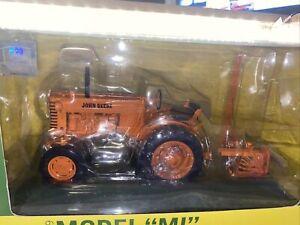 1/16th Scale John Deere 1949 Model MI Highway Orange With Sickle Mower Die-Cast