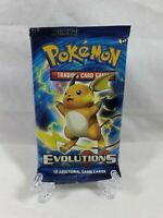 Pokemon TCG XY Evolutions Raichu Cover Booster Pack Sealed 2016 Aus Seller