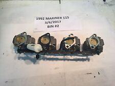 Mercury Mariner Outboard '88-'93 115hp Carburetor 9012A77 9012A78 9012A79 9012A8