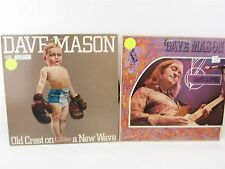 2 LP Record - DAVE MASON Headkeeper  & Old Crest On A New Wave  Ex-Radio
