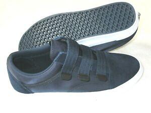 Vans Men's Old Skool V Hook & Loop Surplus Nylon shoes Dress Blues Size 13 NWT